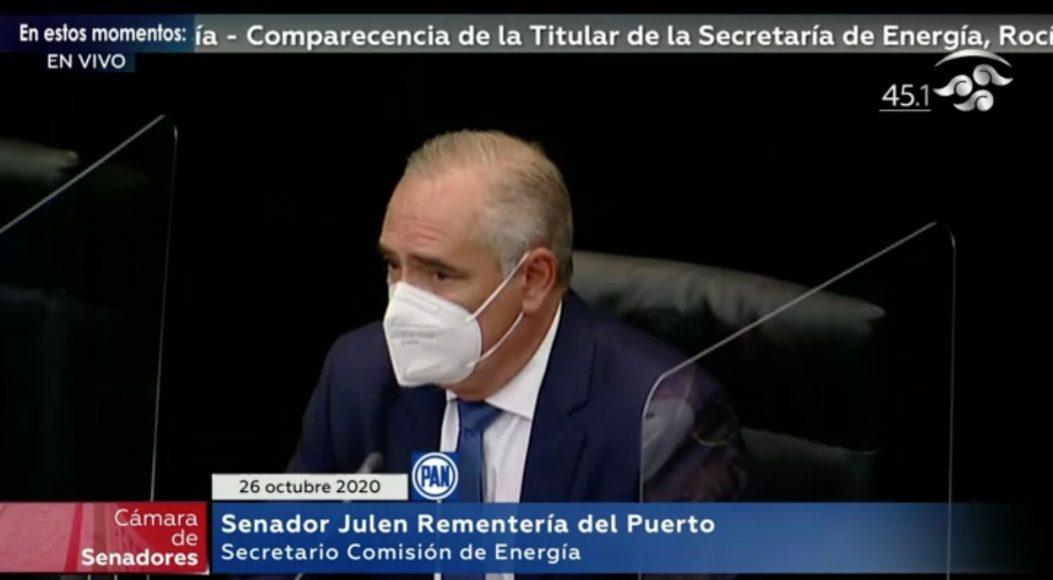 Intervenciones del senador Julen Rementería en la comparecencia de la titular de Energía