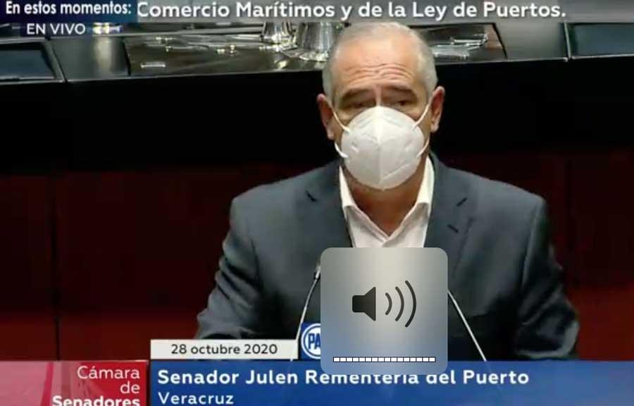 La militarización de las aduanas y la marina mercante es inconstitucional: Julen Rementería
