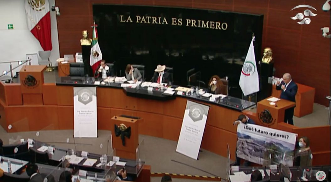 Senador Julen Rementería del Puerto, en la comparecencia de la secretaria de Energía, Rocío Nahle García, ante la Comisión de Energía.