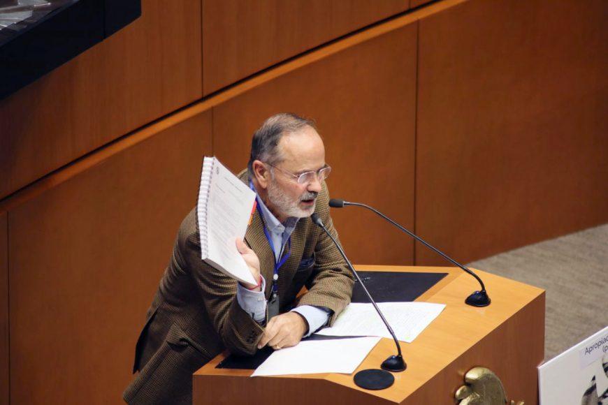 Intervención del senador Gustavo Madero Muñoz, al participar en la discusión de un dictamen de las comisiones unidas de Hacienda y Crédito Público y de Estudios Legislativos Segunda, por el que se expide la Ley de Ingresos de la Federación para el Ejercicio Fiscal de 2021, se reforma la Ley del Impuesto sobre la Renta, de la Ley del Impuesto al Valor Agregado y del Código Fiscal de la Federación y la Ley Federal de Derechos.