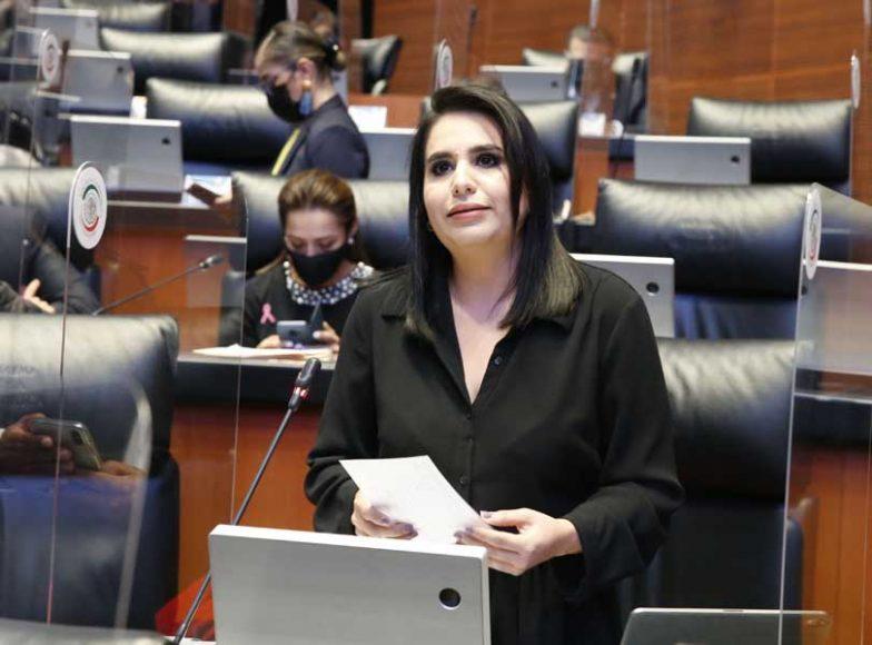 Intervención desde su escaño de la senadora Mayuli Latifa Martínez Simón