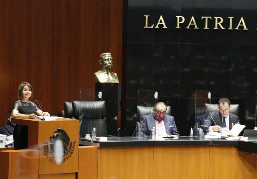 Intervención de la senadora Minerva Hernández Ramos, durante la comparecencia del secretario de Hacienda y Crédito Público, Arturo Herrera Gutiérrez, ante el Pleno del Senado de la República, con motivo del análisis del Segundo Informe de Gobierno.