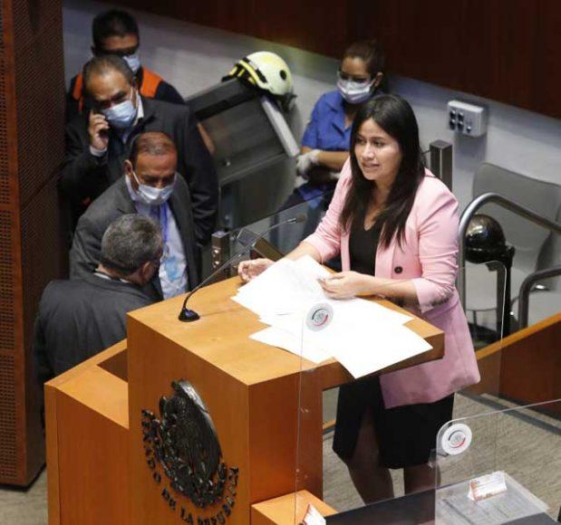 Intervención de la senadora Indira Rosales San Román, durante la comparecencia del secretario de Hacienda y Crédito Público, Arturo Herrera Gutiérrez, ante el Pleno del Senado de la República, con motivo del análisis del Segundo Informe de Gobierno.