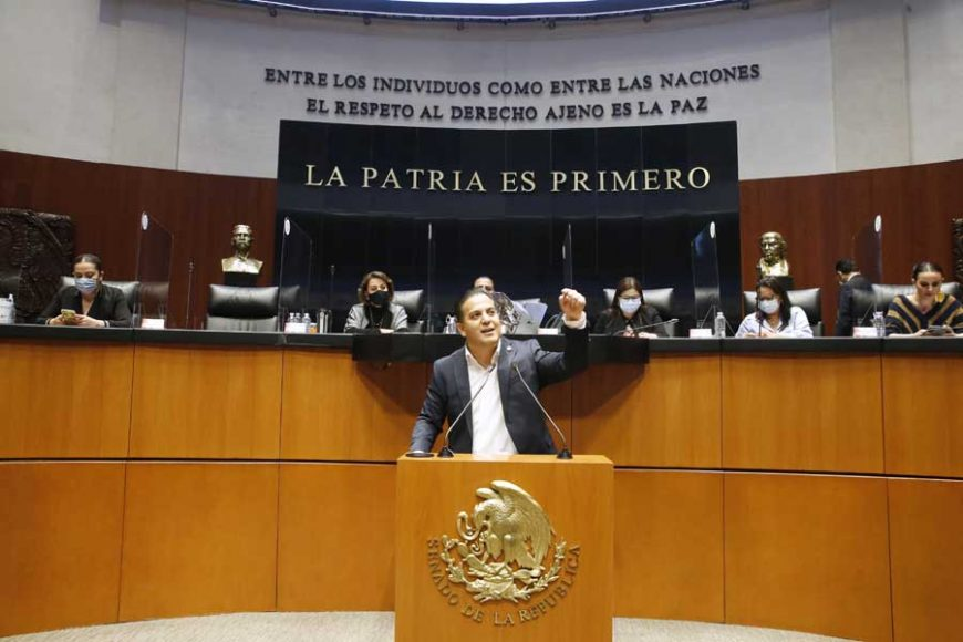 Intervención en tribuna del senador Damián Zepeda Vidales, durante la discusión de un dictamen que resuelve sobre la procedencia y trascendencia de la petición de consulta popular presentada por el Presidente de la República, y se expide la convocatoria de consulta popular.
