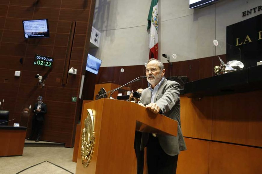 Intervención en tribuna de senador Gustavo Madero Muñoz para referirse al dictamen que resuelve sobre la procedencia y trascendencia de la petición de consulta popular presentada por el Presidente de la República, y se expide la convocatoria de consulta popular