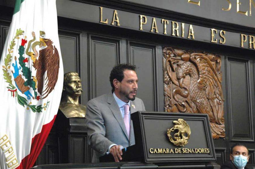 Senador Raúl Paz Alonso para referirse al dictamen que contiene proyecto de decreto reforma y deroga diversas disposiciones de leyes en materia de extinción de fideicomisos