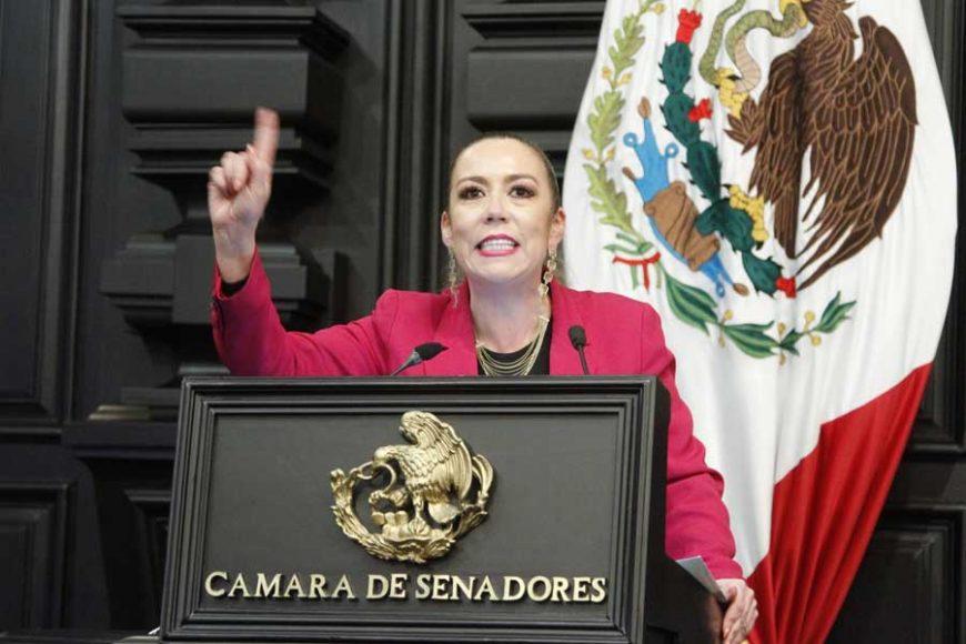 Intervención de la Senadora Alejandra Reynoso al intervenir en tribuna para hablar en materia de extinción de fideicomisos
