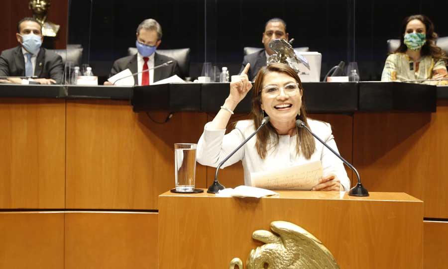 Intervención en tribuna de la senadora Guadalupe Saldaña Cisneros, durante la comparecencia del secretario de Educación Pública, Esteban Moctezuma Barragán, en el marco del análisis del II Informe de Gobierno del Presidente de la República.