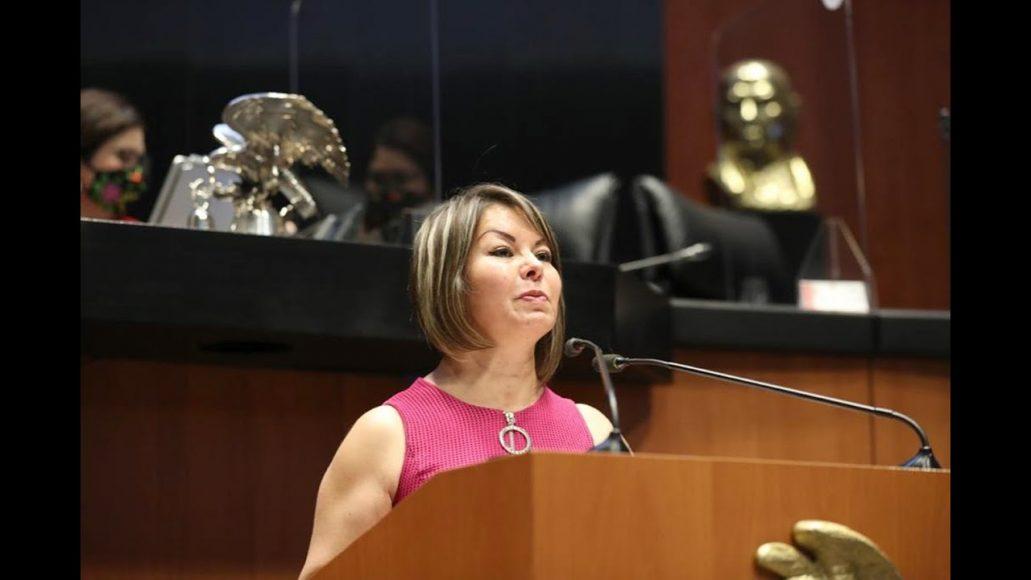 Senadora Minerva Hernández Ramos presenta posicionamiento del PAN al dictamen en materia de la Ley de Ingresos