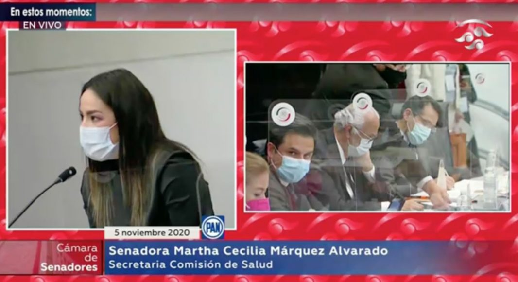 Intervención de la senadora Martha Cecilia Márquez Alvarado durante la comparecencia de Mtro. Zoé Alejandro Robledo Aburto, Director General del IMSS y Mtro. Luis Antonio Ramírez Pineda, Director General del ISSSTE, ante las comisiones Unidas de Salud y Seguridad Social.