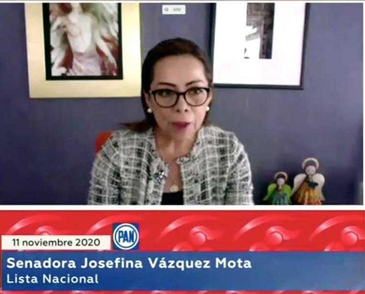 Intervención en tribuna de la senadora Josefina Vázquez Mota, para presentar iniciativa con proyecto de decreto por el que se reforma el artículo 44 de la Ley General de los Derechos de Niñas, Niños y Adolescentes.