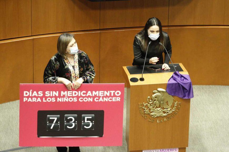 """Intervención en de la senadora Xóchitl Gálvez Ruiz, al participar en la discusión de un dictamen de las comisiones unidas de Salud y de Estudios Legislativos, por el que se declara febrero de cada año como el """"Mes Nacional para la Concientización, Prevención, Detección y Tratamiento Oportuno del Cáncer Infantil"""""""