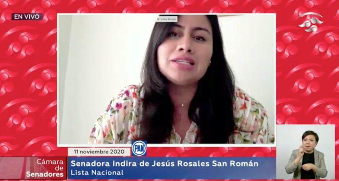 Intervención en tribuna de la senadora Indira de Jesús Rosales San Román, para presentar iniciativa con proyecto de decreto por el que se reforma el artículo 71 de la Constitución Política de los Estados Unidos Mexicanos.