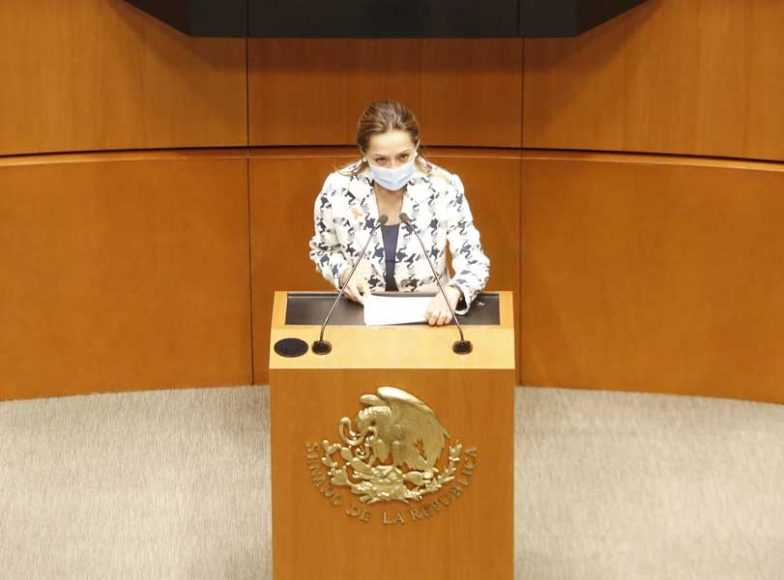 Intervención de la senadora Josefina Vázquez Mota, al fundamentar un dictamen de las comisiones unidas de Derechos de la Niñez y de la Adolescencia, y de Estudios Legislativos Segunda, por el que se reforma la fracción VI del artículo 282 del Código Civil Federal.