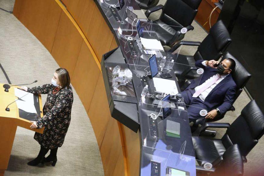 Intervención en tribuna de la senadora Xóchitl Gálvez Ruiz para referirse a un punto de acuerdo de la Comisión de Energía.