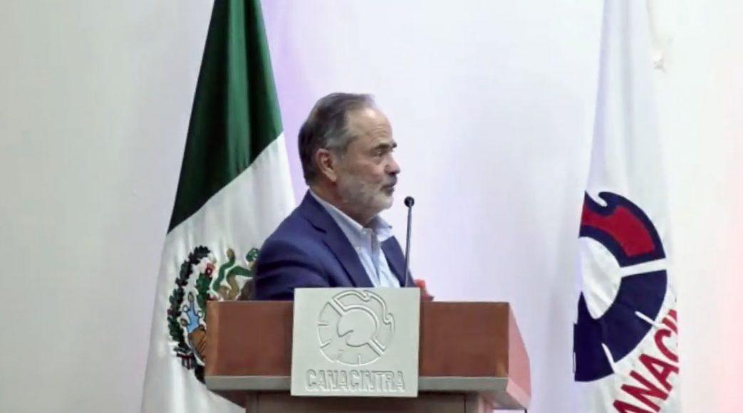 Intervención del senador Madero Muñoz, al recibir el Premio Águila Canacintra al Mérito Legislativo 2020.
