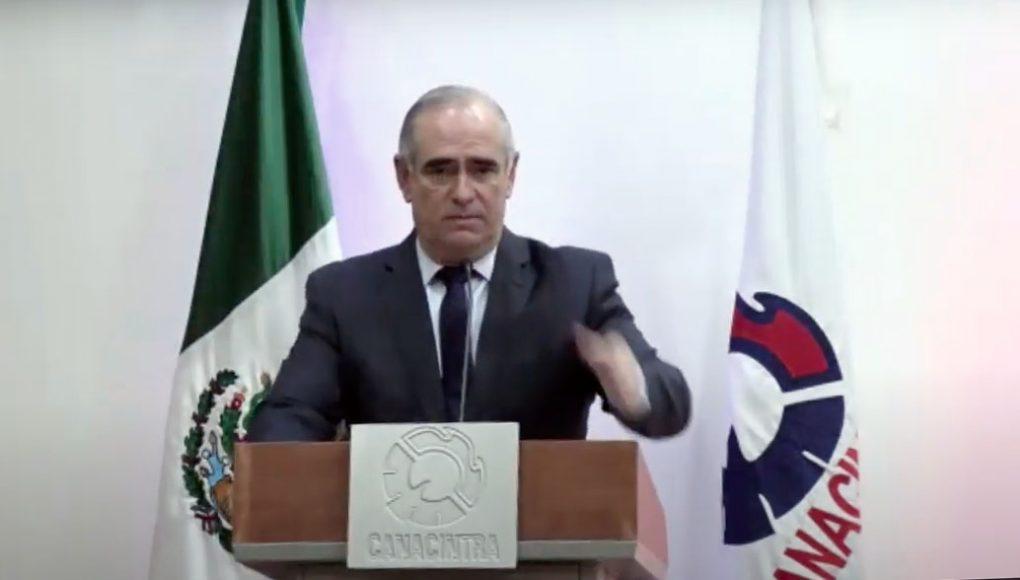 Intervención del senador Julen Rementería del Puerto, al recibir el Premio Águila Canacintra al Mérito Legislativo 2020