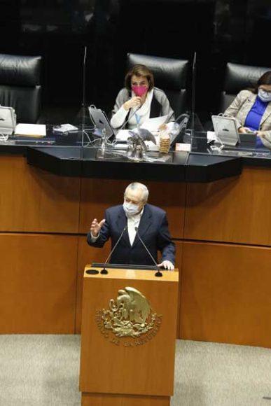 Senador Francisco Javier Salazar Sáenz para referirse al dictamen en materia de Captación de Divisas