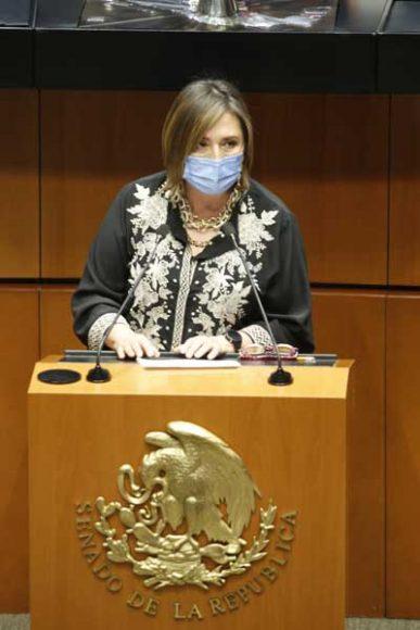 Intervención de la senadora Xóchitl Gálvez Ruiz, para presentar reservas al dictamen de las comisiones unidas de Educación y de Estudios Legislativos, por el que se expide la Ley General de Educación Superior y se abroga la Ley para la Coordinación de la Educación Superior.