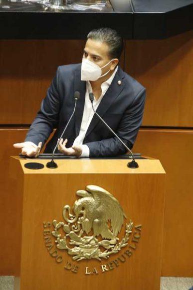 Intervención del senador Damián Zepeda Vidales, al participar en la discusión de un dictamen de la Comisión de Energía, por el que se acuerda la elegibilidad de Laura Itzel Castillo Juárez, propuesta por el titular del Ejecutivo federal, como consejera independiente del Consejo de Administración de Pemex, por un periodo de 5 años.