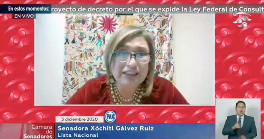 Intervención de la senadora Xóchitl Gálvez Ruiz, al presentar una iniciativa por la que se expide la Ley Federal de Consulta a los Pueblos y Comunidades Indígenas y Afromexicanas, y que reforma el artículo 5 de la Ley del Instituto Nacional de los Pueblos Indígenas.