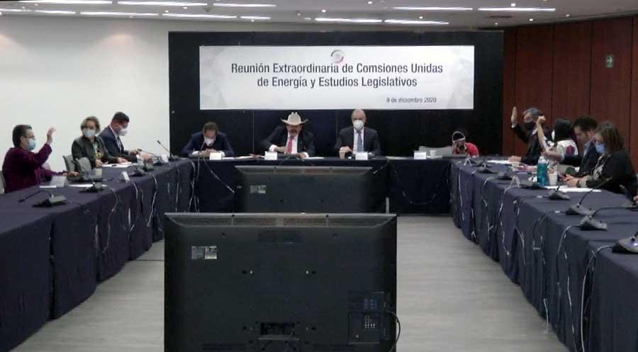 Participación de la senadora Xóchitl Gálvez Ruiz  y el senador Julen Rementería del Puerto, en la reunión de las comisiones unidas de Energía y de Estudios Legislativos
