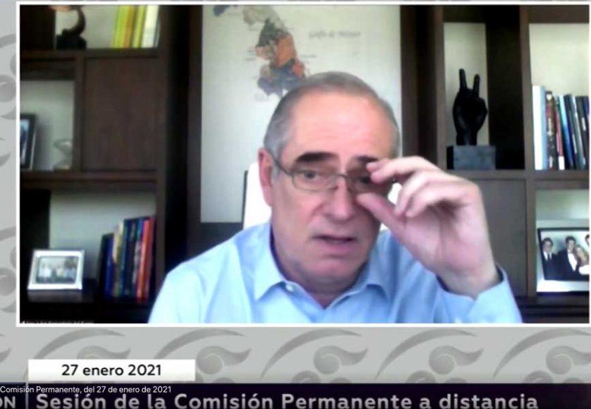 """Senador Julen Rementería del Puerto, al participar en el apartado de Agenda Política, con el tema """"Campañas electorales 2021"""