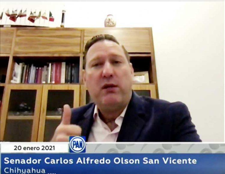 Intervención del senador Carlos Alfredo Olson San Vicente, para referirse a la Agenda Política