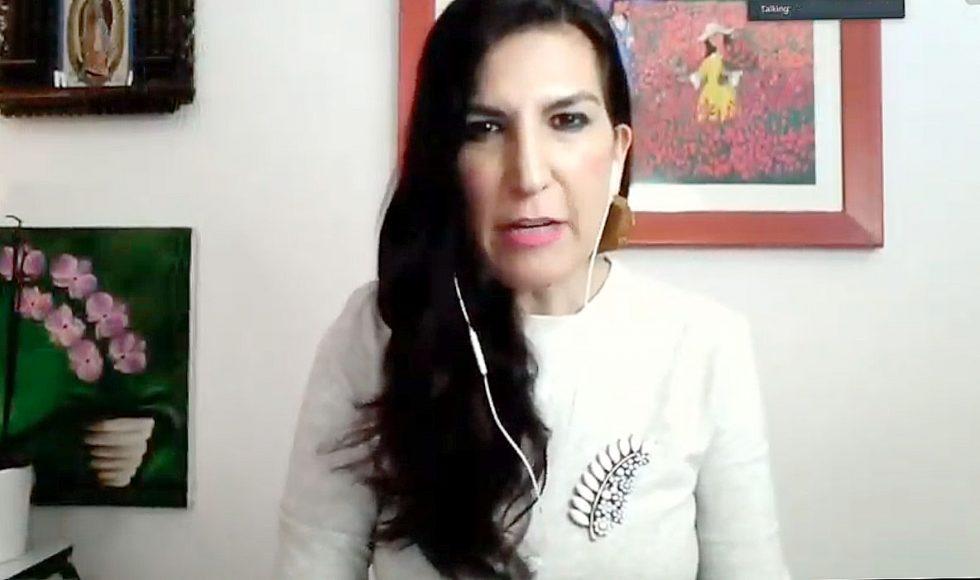 Intervención de la senadora Kenia López Rabadán, al presentar un punto de acuerdo para solicitar que los recursos destinados a la renovación del estadio de beisbol de las Guacamayas de Palenque, se reasignen para atender a las personas contagiadas con Covid-19 en el sistema de salud, en la sesión a distancia de la Comisión Permanente del Congreso.