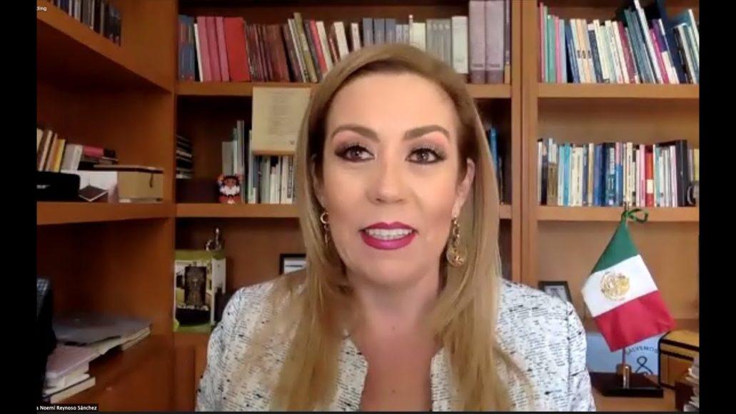 Senadora Alejandra Reynoso Sánchez exhorta a diversas autoridades en relación a la vacunación contra el SARS-CoV-2