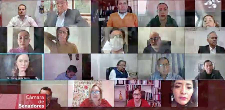 Participación de la senadora Xóchitl Gálvez Ruiz, durante la reunión de trabajo a distancia de la Comisión de Comunicaciones y Transportes, y de Radio, Televisión y Cinematografía.
