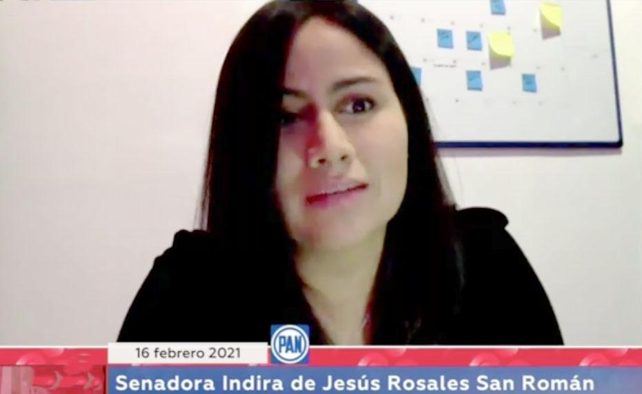 Intervención de la senadora Indira Rosales San Román, al participar en la discusión de un dictamen de las comisiones unidas Para la Igualdad de Género y de Estudios Legislativos, por el que se reforman, adicionan y derogan diversas disposiciones de la Ley General de Acceso de las Mujeres a una Vida Libre de Violencia.