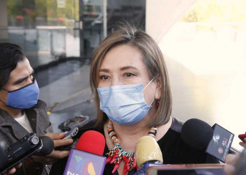 Entrevista concedida por la senadora Xóchitl Gálvez Ruiz, durante la sesión ordinaria.