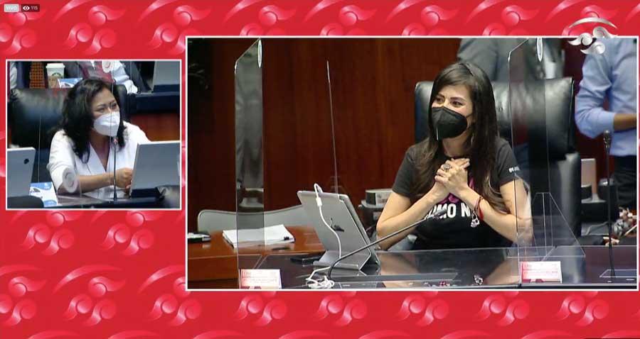 Senadora Nadia Navarro Acevedo,