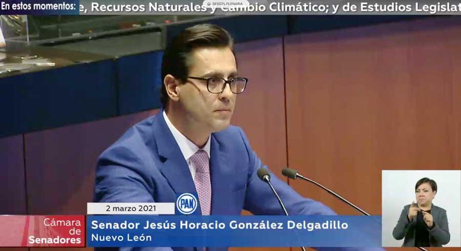 Intervención del senador Horacio González Delgadillo, al participar en la discusión de un dictamen de las comisiones unidas de Energía, de Medio Ambiente, Recursos Naturales y Cambio Climático, y de Estudios Legislativos Segunda, que reforma diversas disposiciones de la Ley de la Industria Eléctrica.
