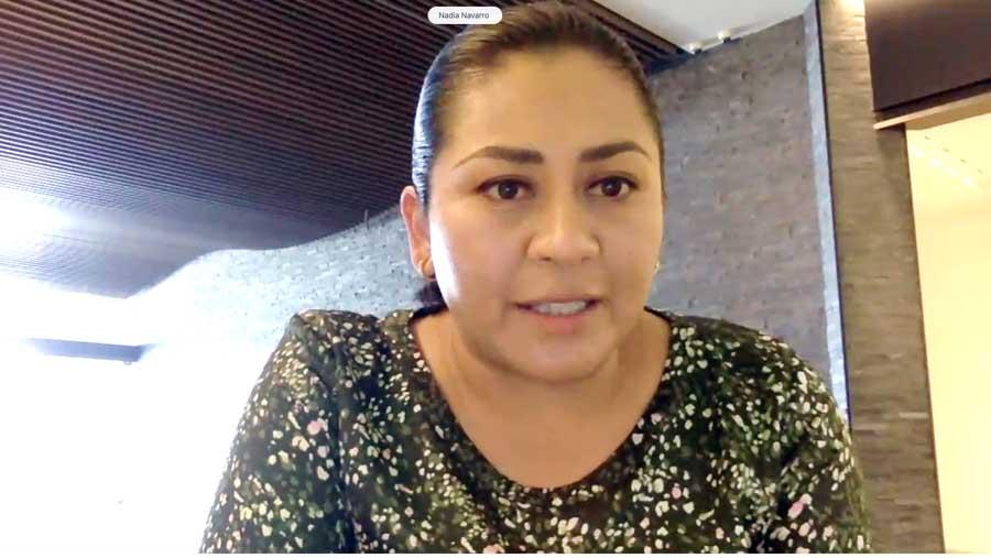 Intervención de la senadora Nadia Navarro Acevedo, para referirse al dictamen que ratifica el nombramiento a favor del C. Francisco José Quiroga Fernández, como Embajador Extraordinario y Plenipotenciario de México en la República Federal de Alemania.
