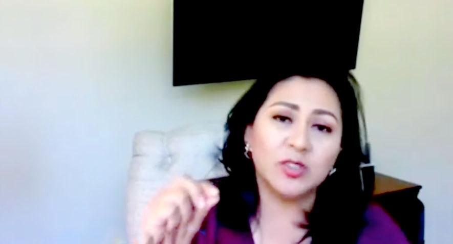 Intervención de la senadora Nadia Navarro Acevedo, para referirse al Día Internacional de la Mujer.