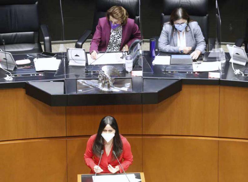 Intervención de la senadora Indira Rosales San Román, al participar en la discusión de un dictamen de las comisiones unidas de Puntos Constitucionales y de Estudios Legislativos Segunda, por el que se reforma el párrafo cuarto de la fracción IV del artículo 74 de la Constitución