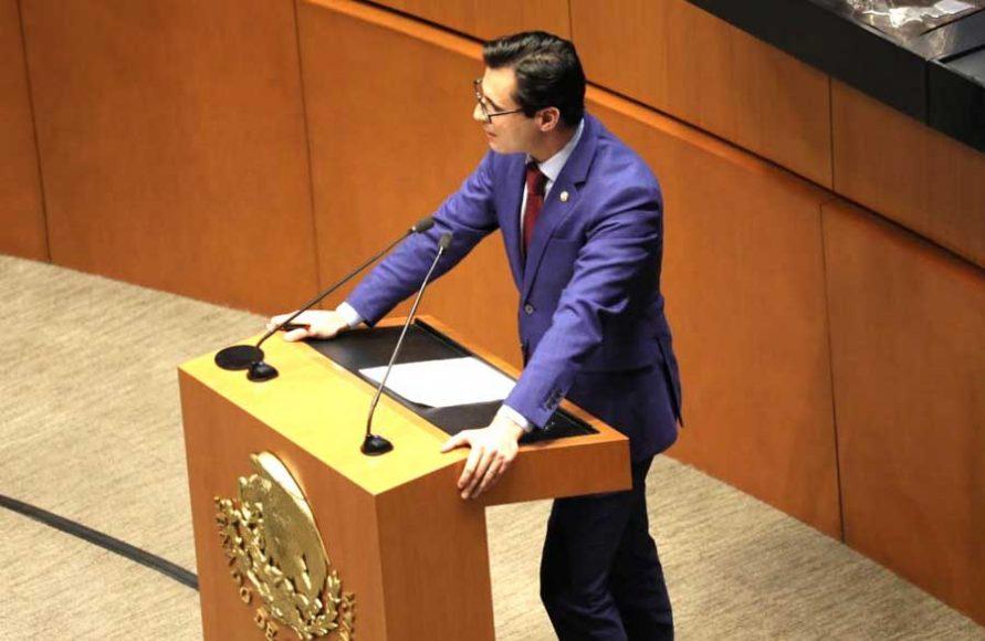 Intervención en tribuna del senador Jesús Horacio González Delgadillo, para referirse al dictamen de las Comisiones Unidas de Puntos Constitucionales y de Estudios Legislativos, Segunda, con proyecto de decreto por el que se reforman los artículos 5, 17 y 21 de la Constitución.