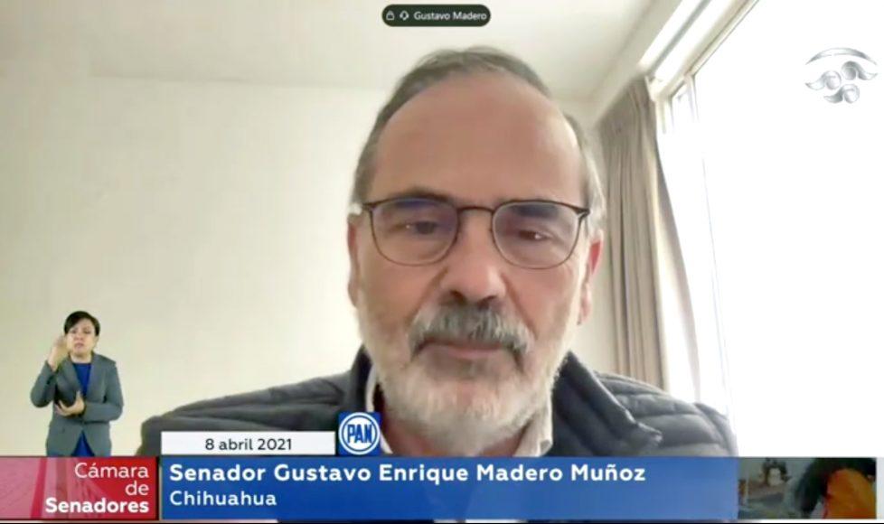 Intervención del senador Gustavo Madero Muñoz para referirse a una solicitud al Ministro presidente de la Suprema Corte de la Nación sobre los derechos laborales y de investigación de 107 institutos de educación superior y de investigación en la República.