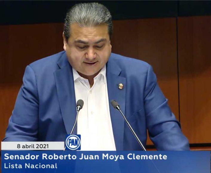Intervención del senador Roberto Juan Moya Clemente, al presentar una iniciativa que adiciona el artículo 54 bis de la Ley sobre Refugiados, Protección Complementaria y Asilo Político.