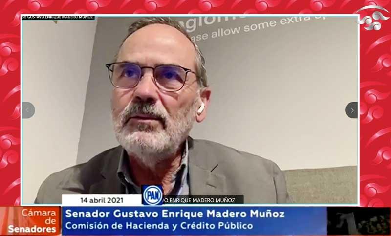 Intervención del senador Gustavo Madero Muñoz durante la reunión de la Comisión de Hacienda y Crédito Público, para la comparecencia del Gobernador del Banco de México, Alejandro Díaz de León Carrillo.