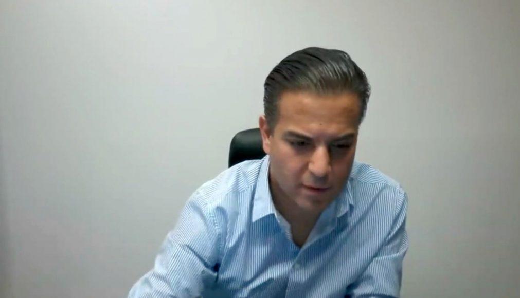 Senador Damián Zepeda Vidales, durante la Comisión de Estudios Legislativos, Segunda