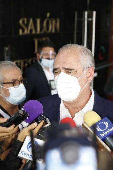 Entrevista concedida por el senador Julen Rementería del Puerto, durante la sesión ordinaria a distancia.