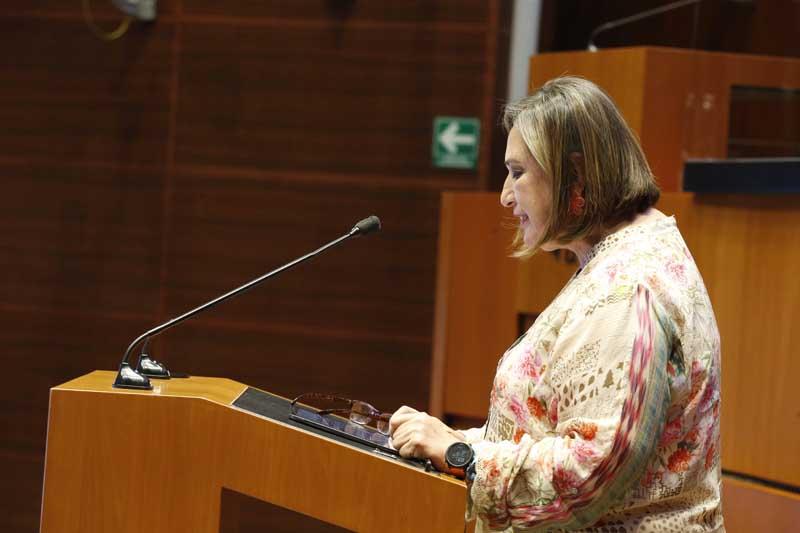 Senadora Xóchitl Gálvez Ruiz, dictamen en materia de la Ley Federal de Remuneraciones de los Servidores Públicos