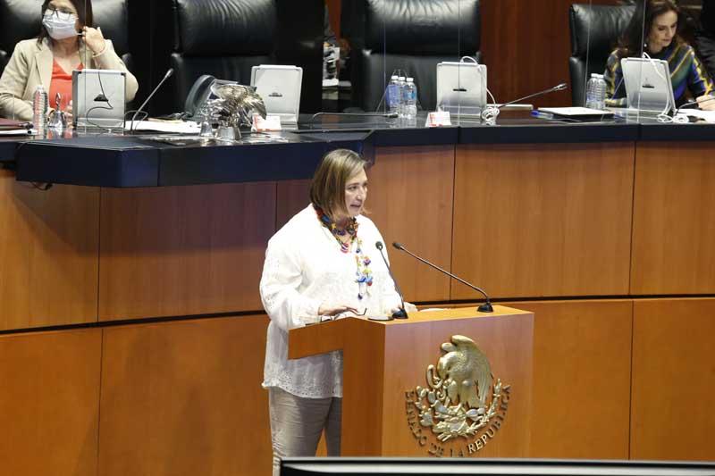 Intervención de la senadora Xóchitl Gálvez Ruiz, al participar en la discusión de un dictamen de las comisiones unidas de Energía y de Estudios Legislativos Segunda, por el que se reforma el artículo décimo tercero transitorio de la Ley de Hidrocarburos publicada en el Diario Oficial de la Federación el 11 de agosto de 2014.