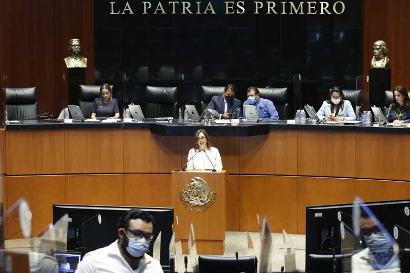 Intervención en tribuna de la senadora Gina Andrea Cruz Blackledge, para presentar reserva al artículo Décimo Tercero Transitorio, del proyecto de decreto por el que se reforma el Artículo Décimo Tercero Transitorio de la Ley de Hidrocarburos Publicada en el Diario Oficial de la Federación el 11 de agosto de 2014.
