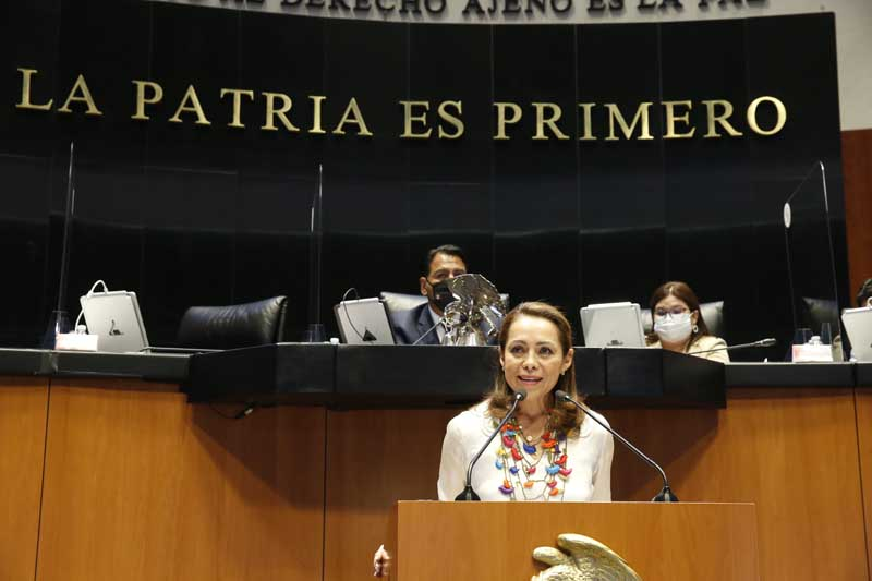 intervención de la senadora Josefina Vázquez Mota, al participar en la discusión de un dictamen de las comisiones unidas de Justicia y de Estudios Legislativos Segunda, por el que se reforman y adicionan diversas disposiciones del Código Penal Federal