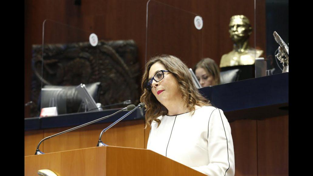 Senadora Gina Andrea Cruz Blackledge presenta reserva a reforma a la Ley de Hidrocarburos