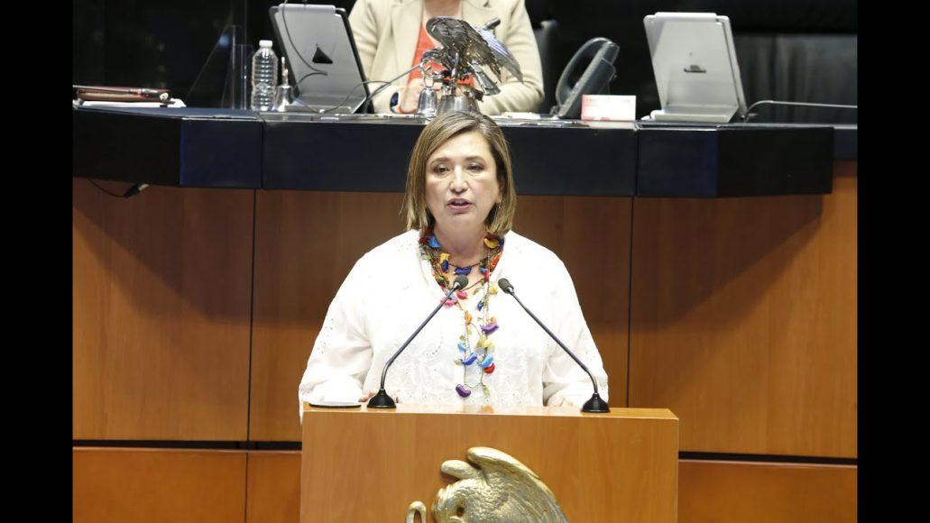Senadora Xóchitl Gálvez Ruiz, en la discusión de un dictamen de las comisiones unidas de Energía